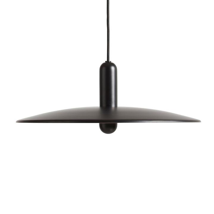Lu pendant lamp Ø 45 cm large from Woud in black