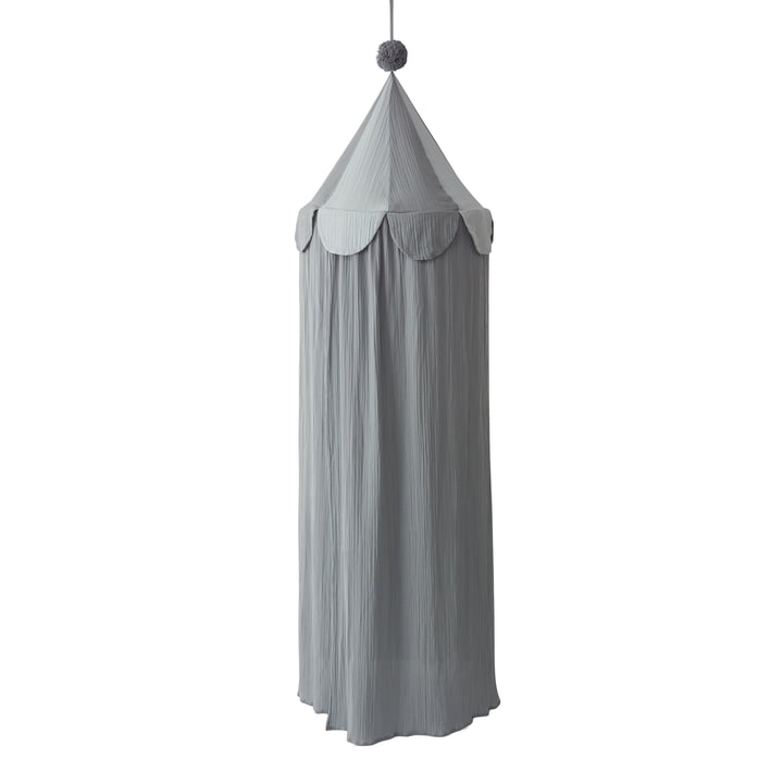 Ronja bed canopy, blue from OYOY