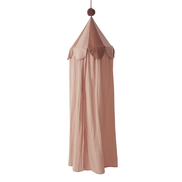 Ronja bed canopy, pink from OYOY