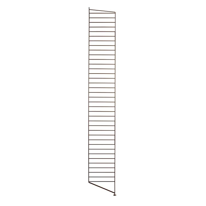 String - Floor ladder for String shelf 200 x 30 cm, brown
