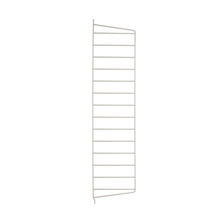 Wall ladder for String shelf 75 x 20 cm from String in brown