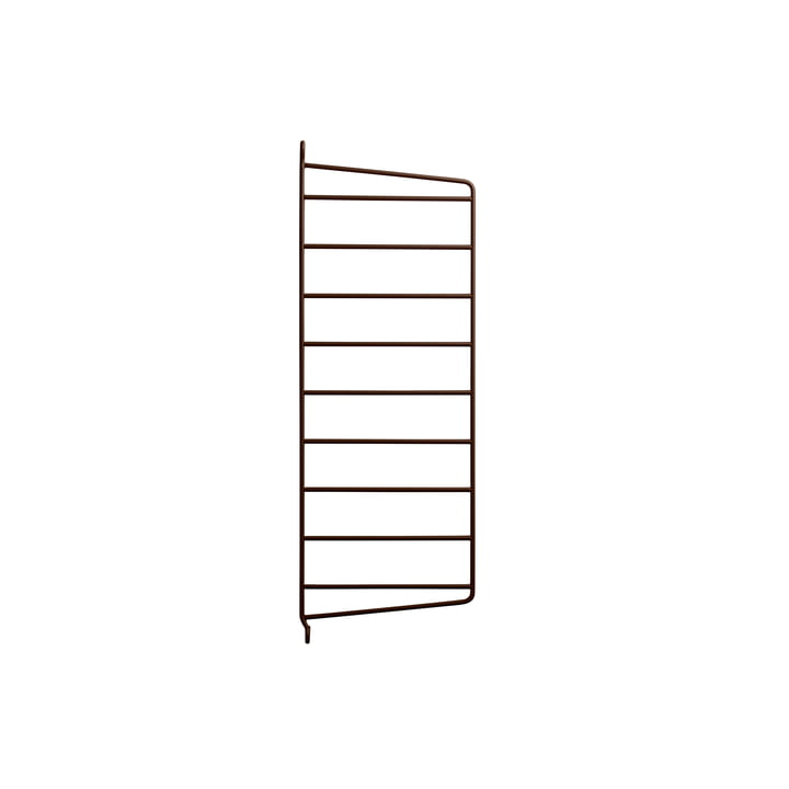Wall ladder for String shelf 50 x 20 cm from String in brown