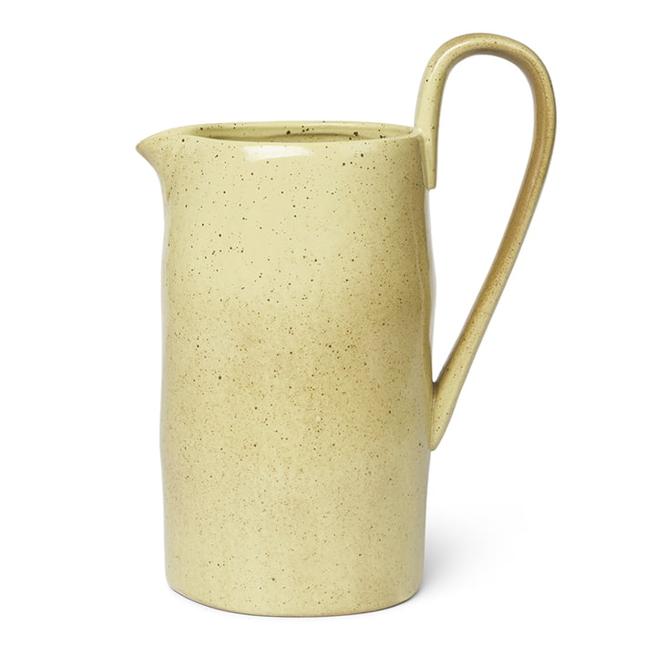 Flow Jug from ferm Living in yellow