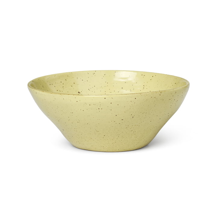 Flow bowl Ø 14,5 cm from ferm Living in yellow