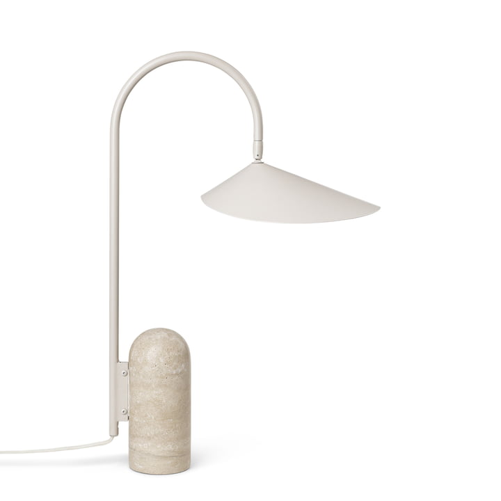Arum table lamp by ferm Living in cashmere
