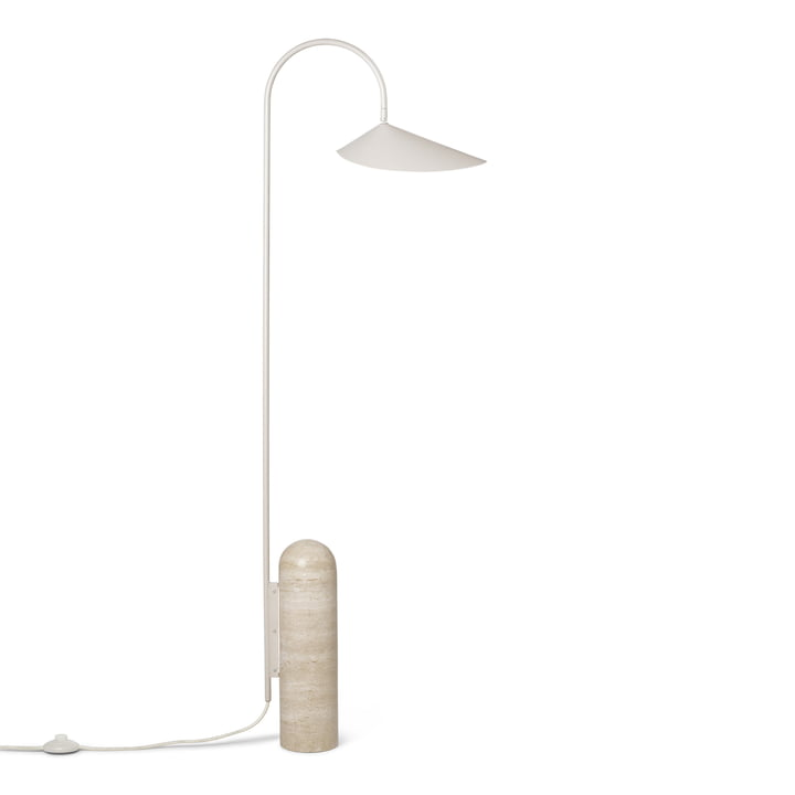 Arum floor lamp by ferm Living in cashmere