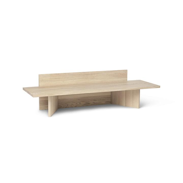 Oblique Bench by ferm Living in oak