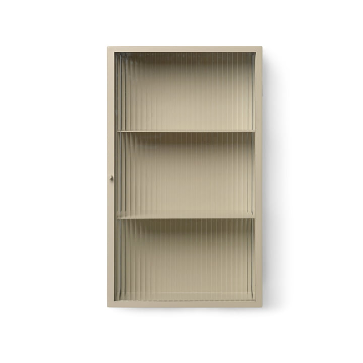 Haze wall cabinet from ferm Living in cashmere