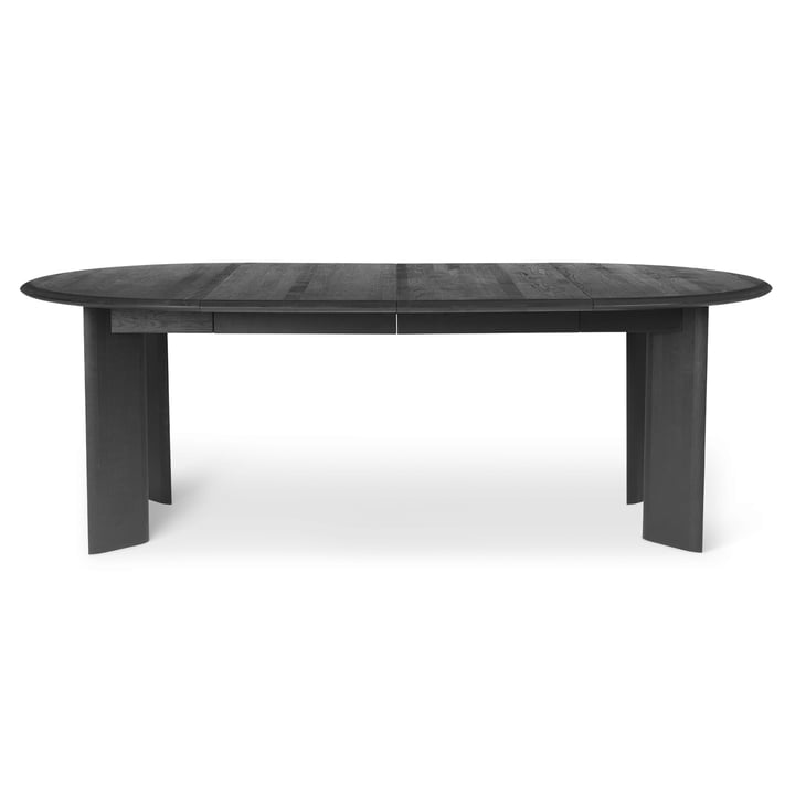 Bevel Extending table by ferm Living in black oiled oak