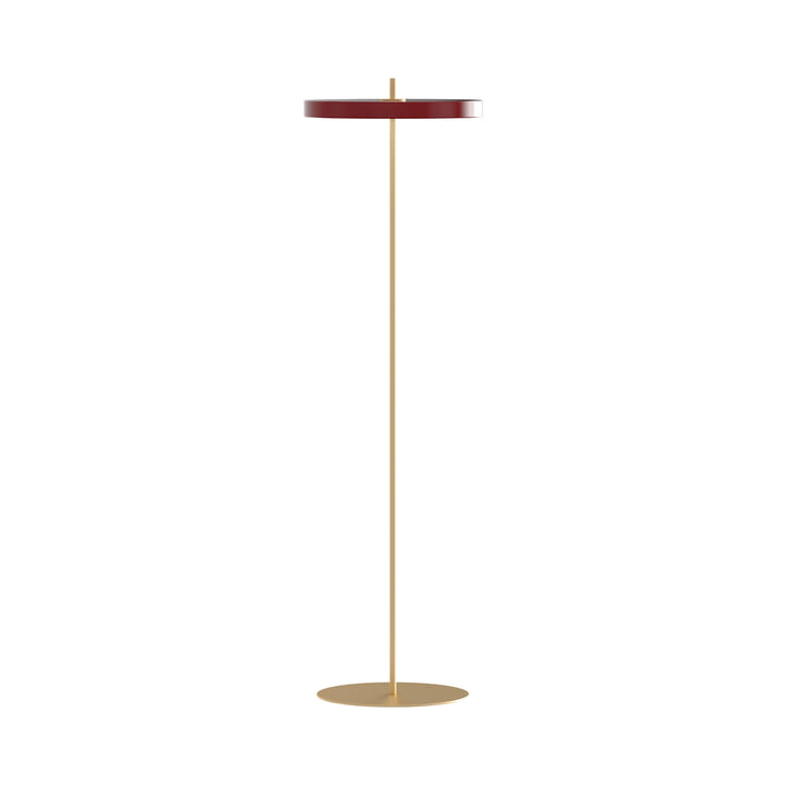 Asteria LED floor lamp, Ø 43 x H 150.7 cm, ruby red by Umage
