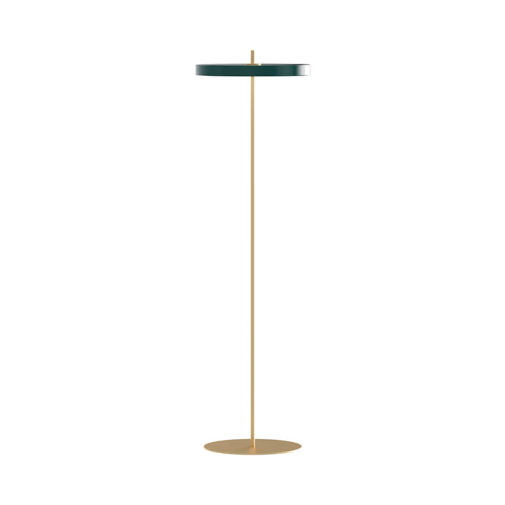 Asteria LED floor lamp, Ø 43 x H 150.7 cm, forest green from Umage