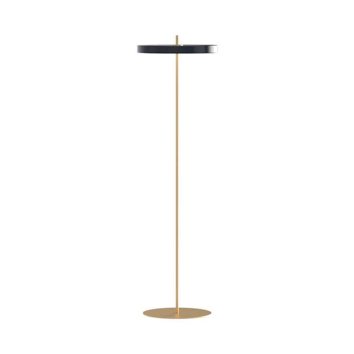 Asteria LED floor lamp, Ø 43 x H 150.7 cm, anthracite from Umage