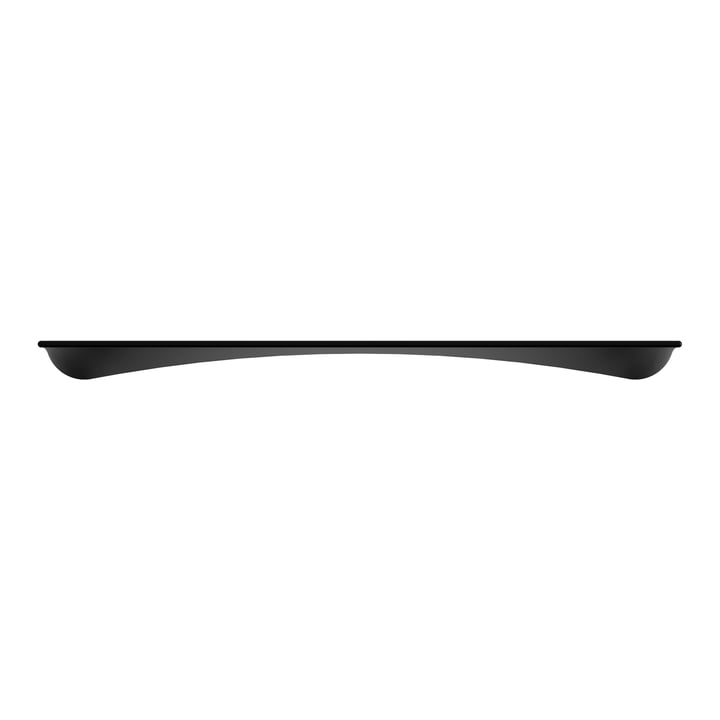 Flow Wall shelf 98 cm, black ash from Umage
