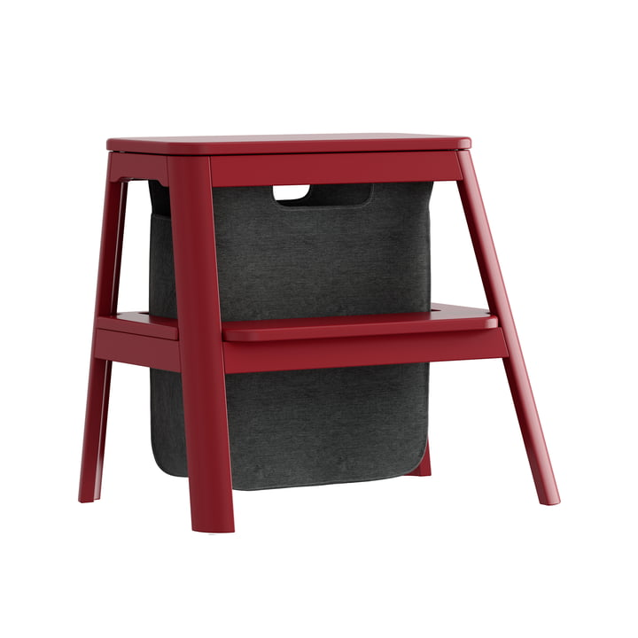 Step it up stool Umage, ruby red by Umage