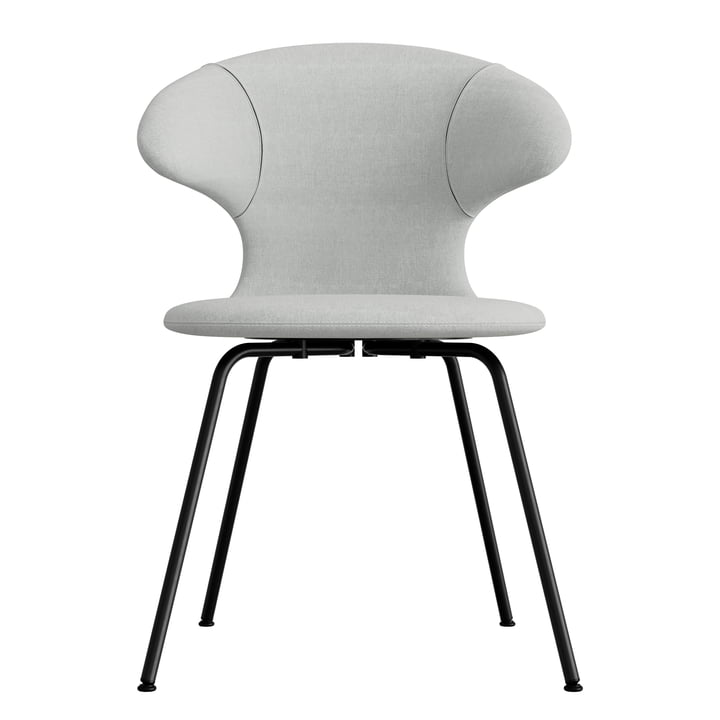Umage - Time Flies chair, base black, silver grey / silver grey
