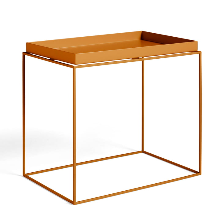 Tray Table 60 x 40 cm from Hay in toffee