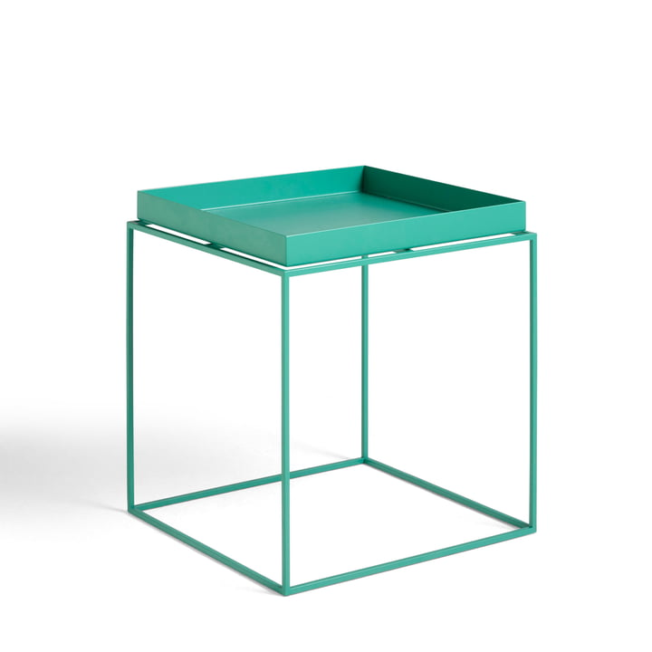 Tray Table 40 x 40 cm from Hay in peppermint green