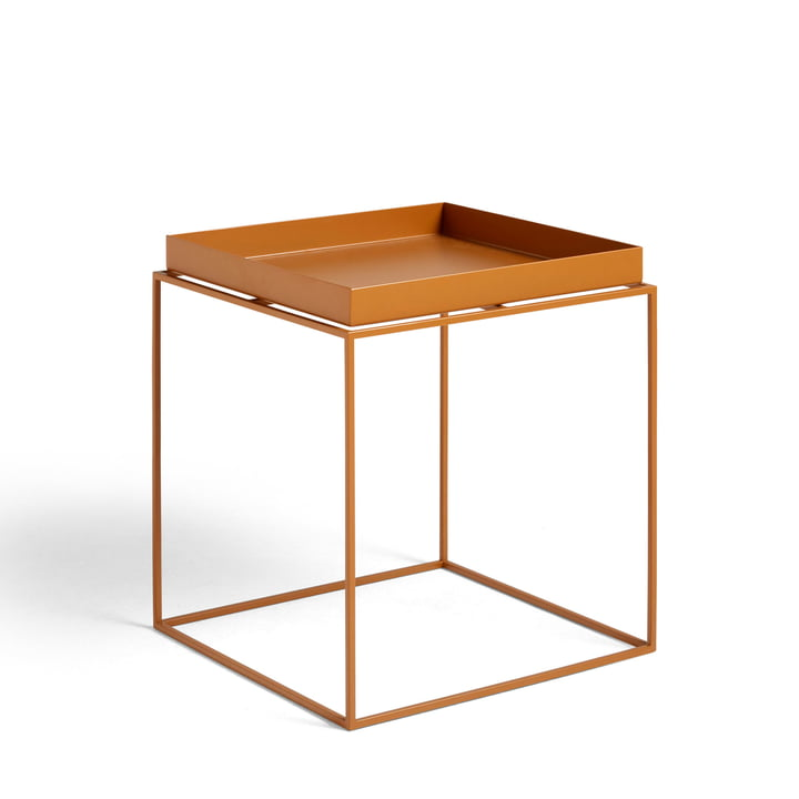 Tray Table 40 x 40 cm from Hay in toffee