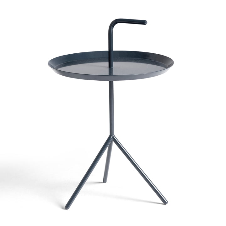 DLM side table from Hay in blue glossy