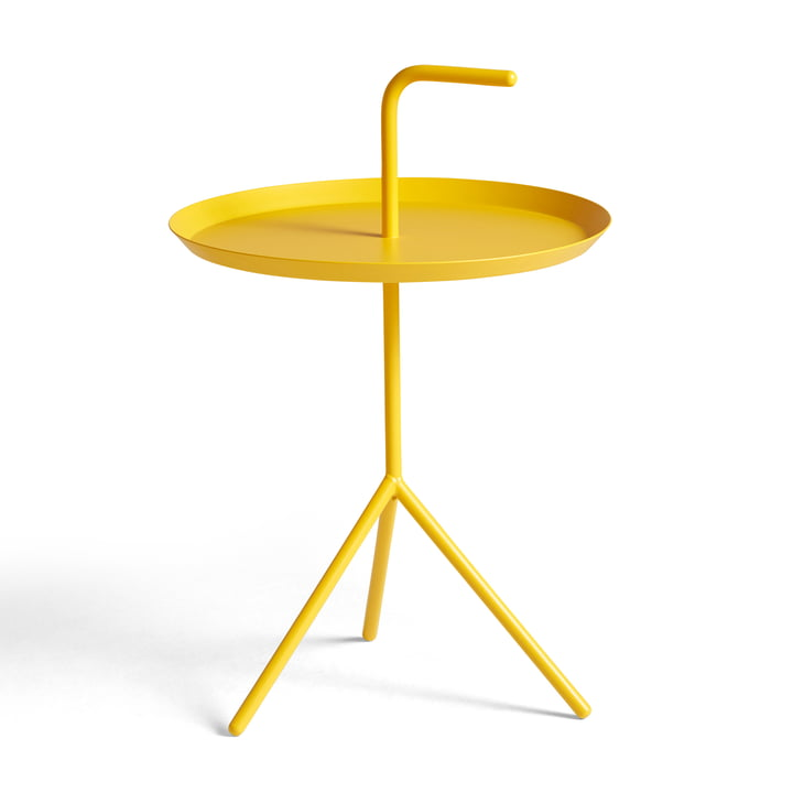 DLM side table from Hay in sun yellow