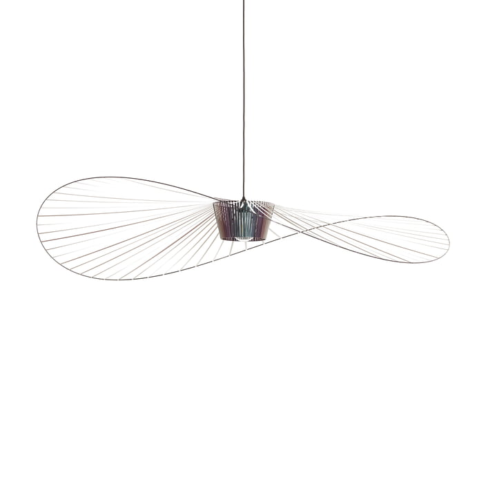 Vertigo pendant light small from Petite Friture in beetle
