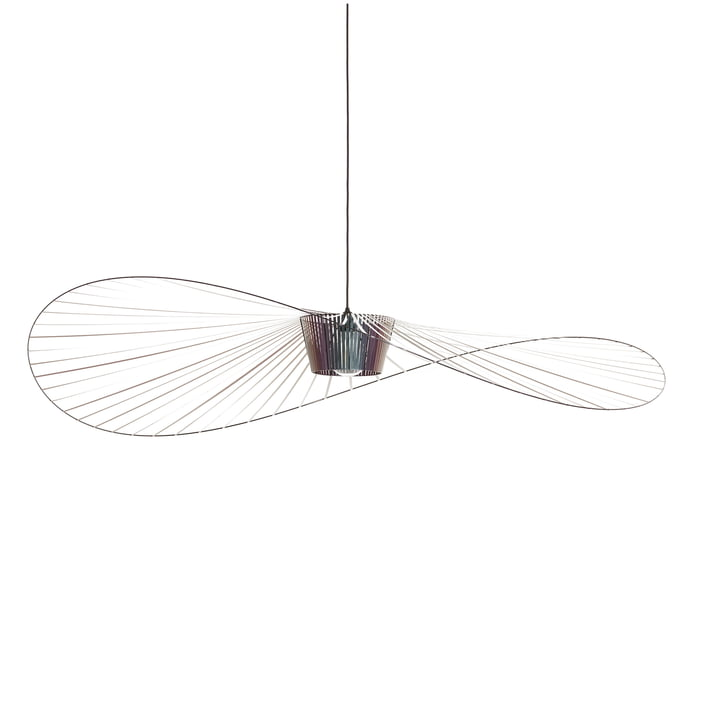 Vertigo pendant light large from Petite Friture in beetle