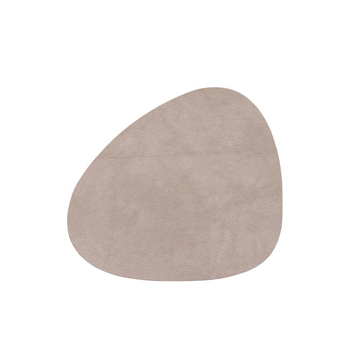 Glass coaster Curve, Nupo nomad grey by LindDNA