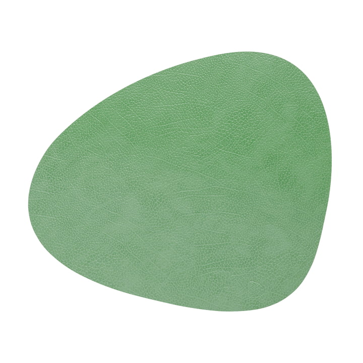 Place mat Curve L, Hippo forest green from LindDNA