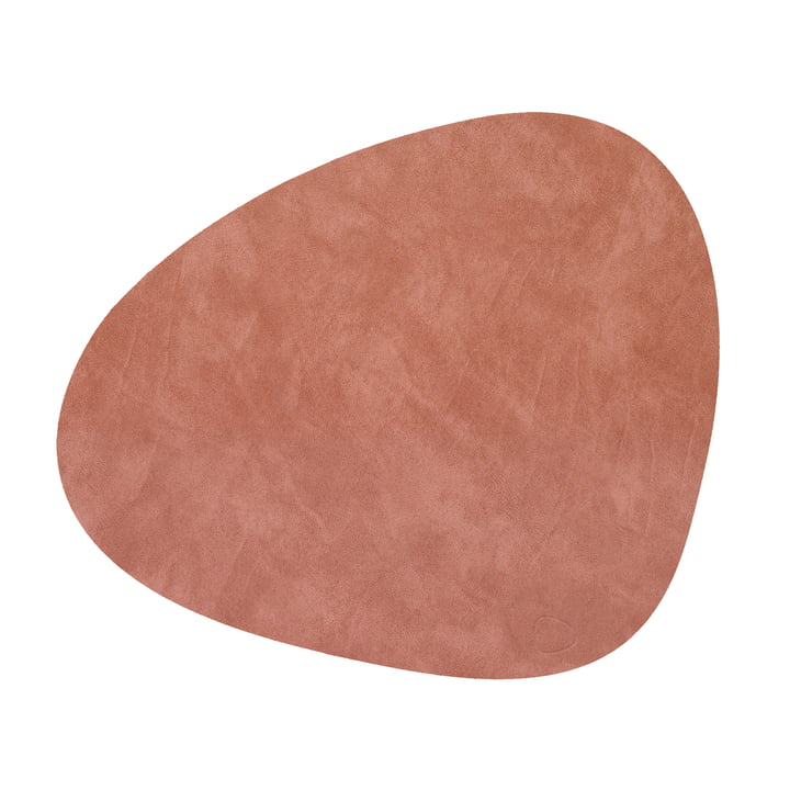 Place mat Curve L, Nupo blush from LindDNA