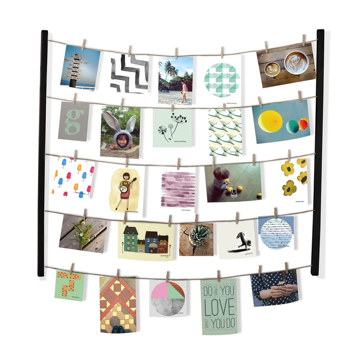 Hangit Photo wall from Umbra in black