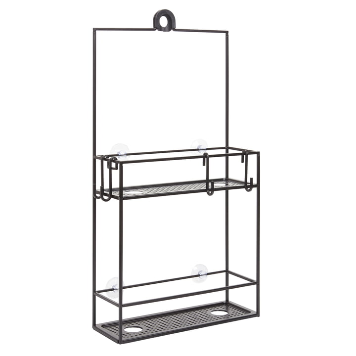 Cubiko Shower tray from Umbra in black