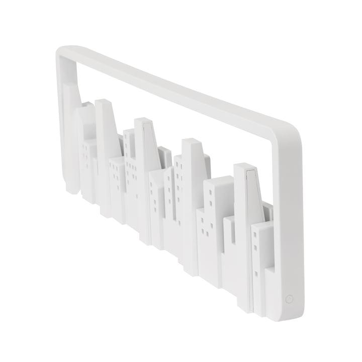 Skyline Wardrobe rail from Umbra in white