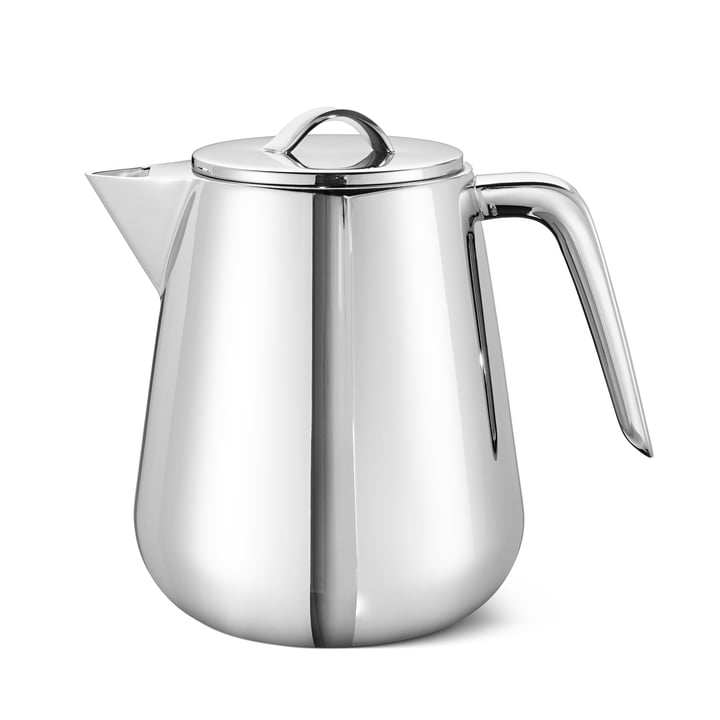 Helix Teapot 1 l, stainless steel from Georg Jensen