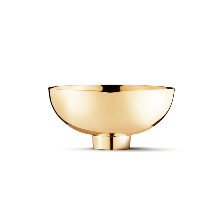 Ilse bowl Ø 13 cm from Georg Jensen in brass