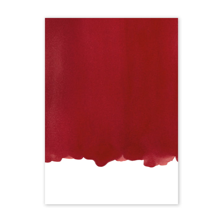 Enso Red I Poster, 50 x 70 cm from Paper Collective