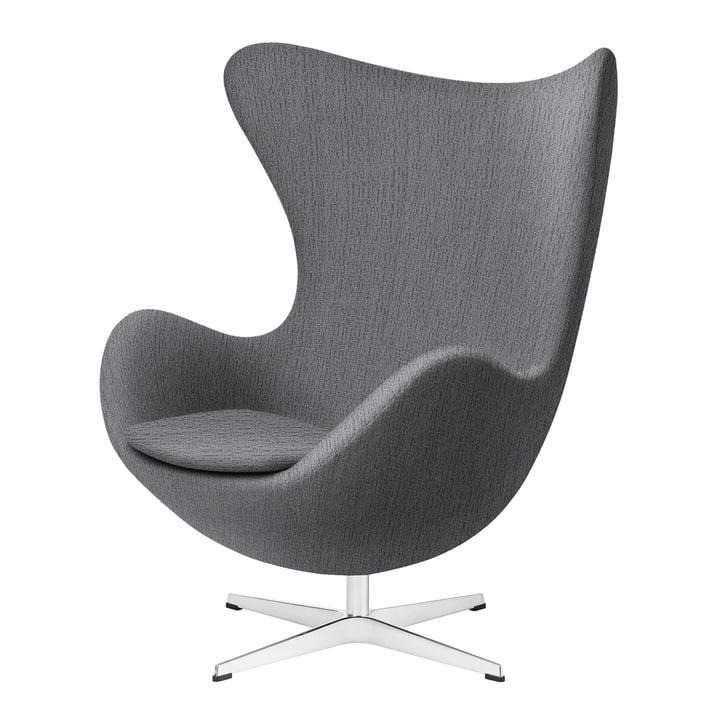Egg Chair from Fritz Hansen in light grey (Christianshavn)