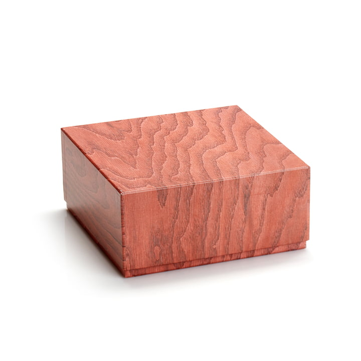 Storage box 20 x 9,5 cm from applicata in terracotta