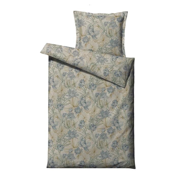 Foliage Bed linen, 135 x 200 cm, indigo from Södahl