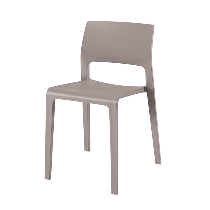 Juno Chair 3600 by Arper in taupe