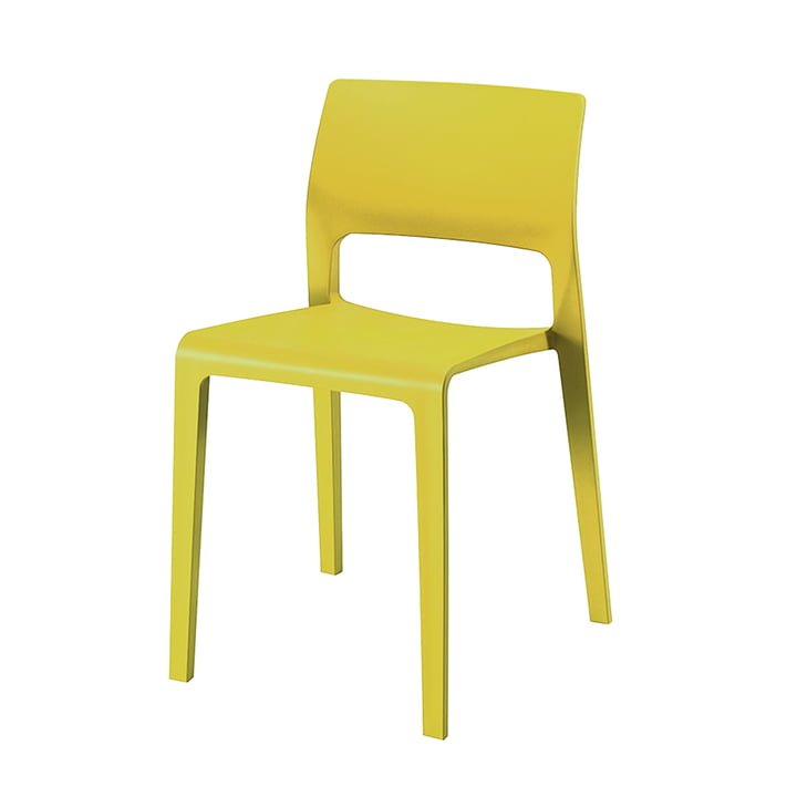 Juno Chair 3600 from Arper in yellow