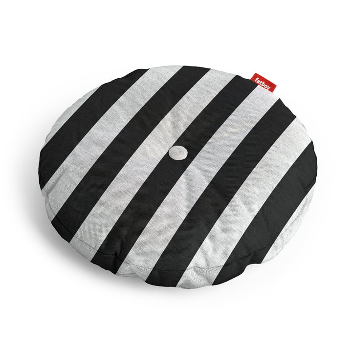 Circle seat cover Ø 50 x 4 cm from Fatboy in anthracite striped