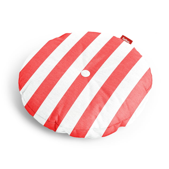 Circle seat cover Ø 50 x 4 cm from Fatboy in red striped