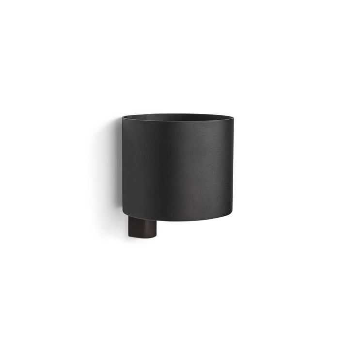 Kollage Flowerpot Ø 14 x H 12 cm from Gejst in black