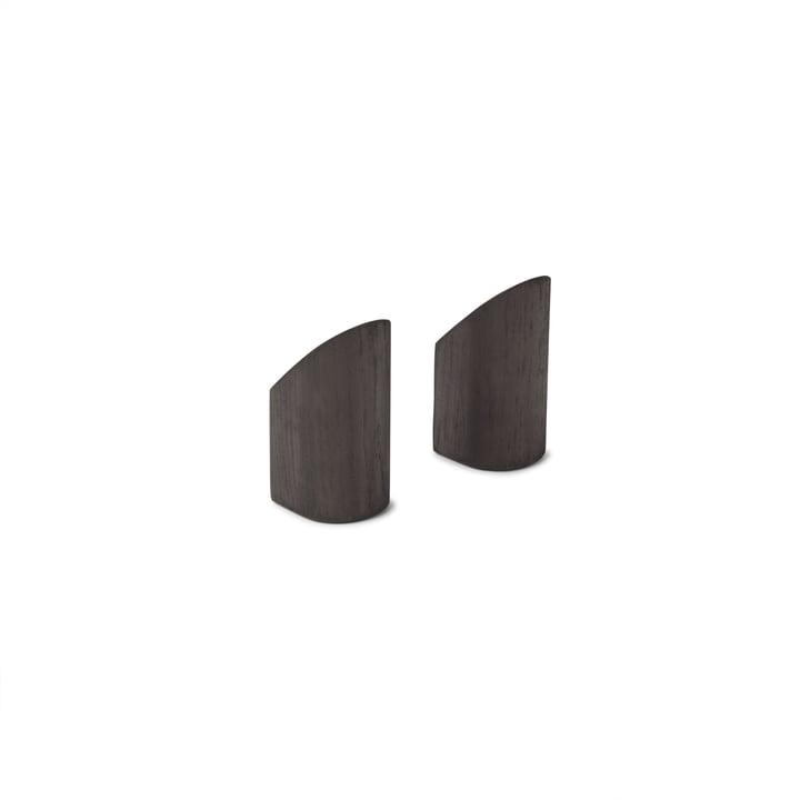Kollage Wall hook from Gejst in black (set of 2)