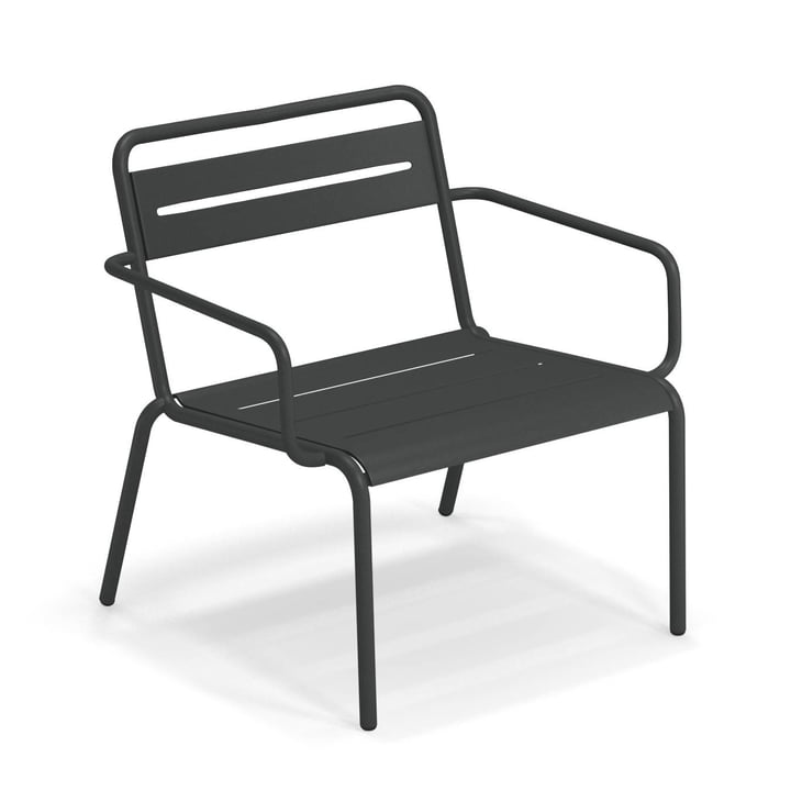 Star Lounge chair from Emu in antique iron