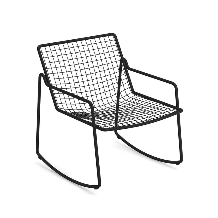 Rio R50 rocking chair, black by Emu