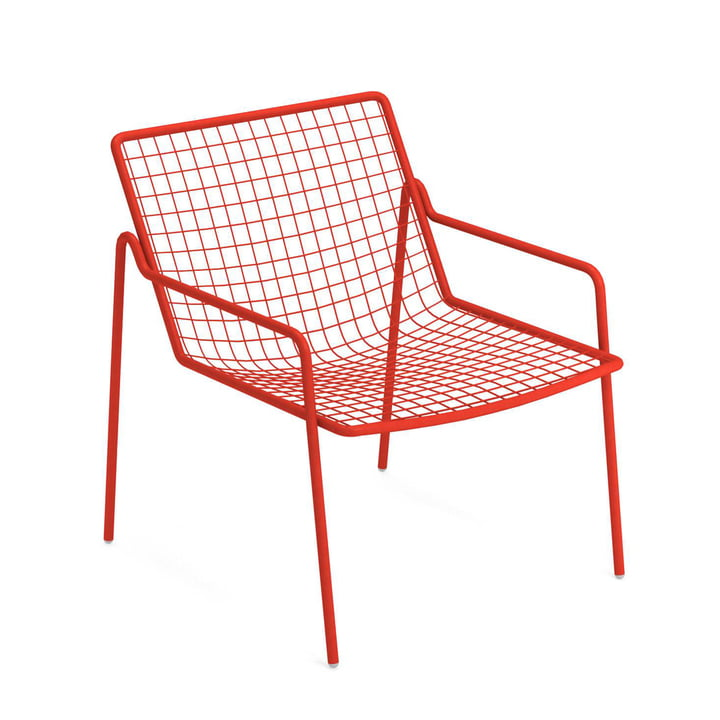 Rio R50 lounge chair, scarlet red from Emu