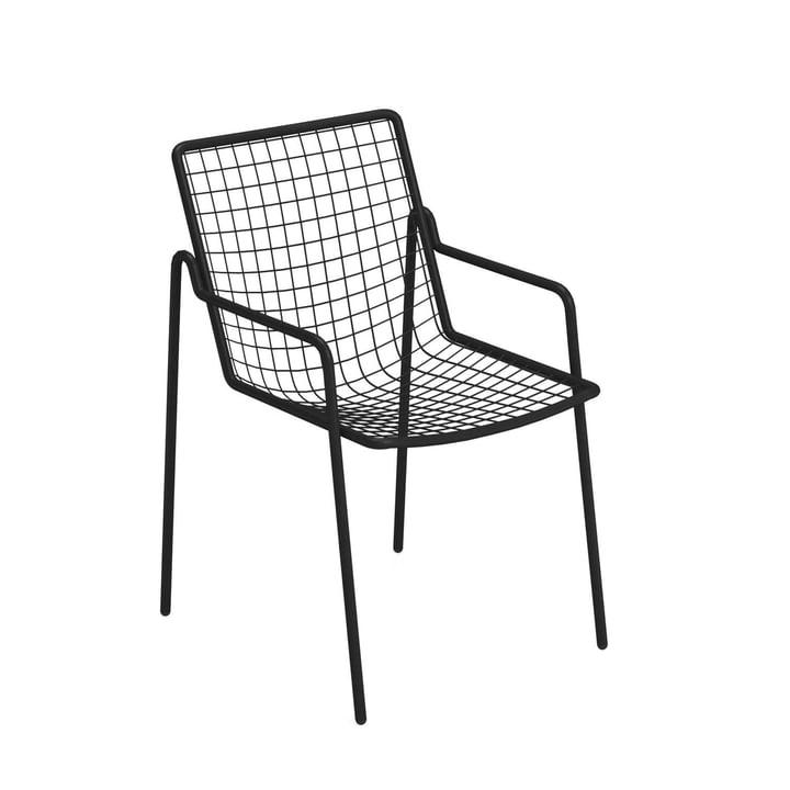 Rio R50 armchair, black by Emu