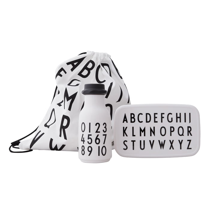 School Start Set ABC, black / white from Design Letters