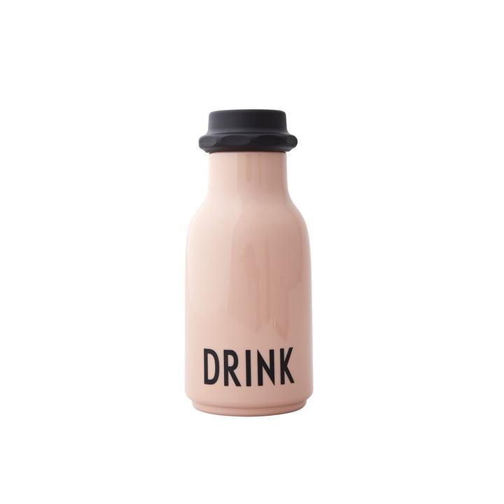Kids water bottle 0.33 l, drink / nude from Design Letters